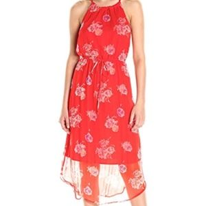 Lucky Brand Red Floral Dress